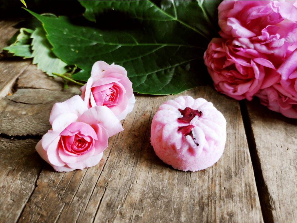Anglická růže šumivá bombička 25 g