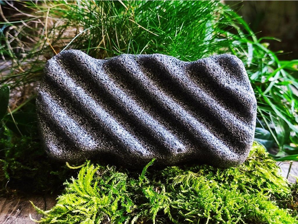 Tělový černý konjac přírodní čistící houbička