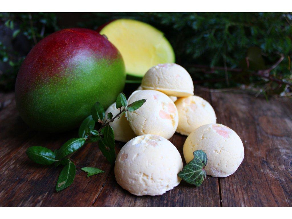 Čerstvé mango tuhá pěna do koupele