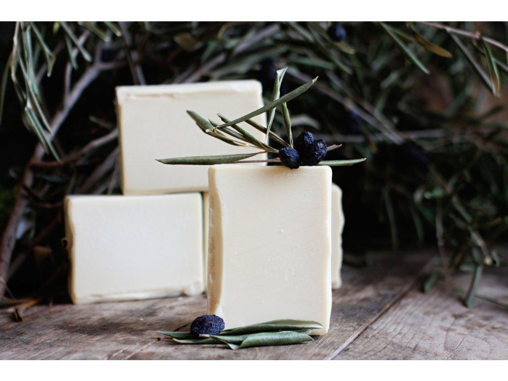 Olivové mýdlo na praní 100 g bez parfemace
