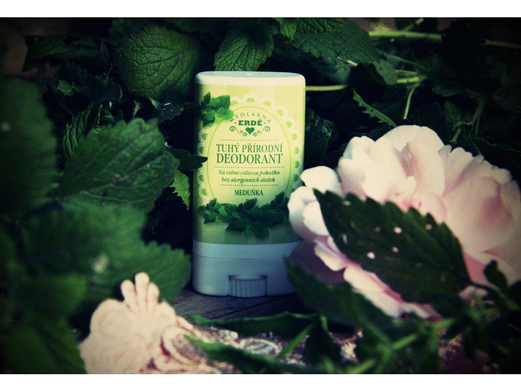 Meduňka přírodní deodorant