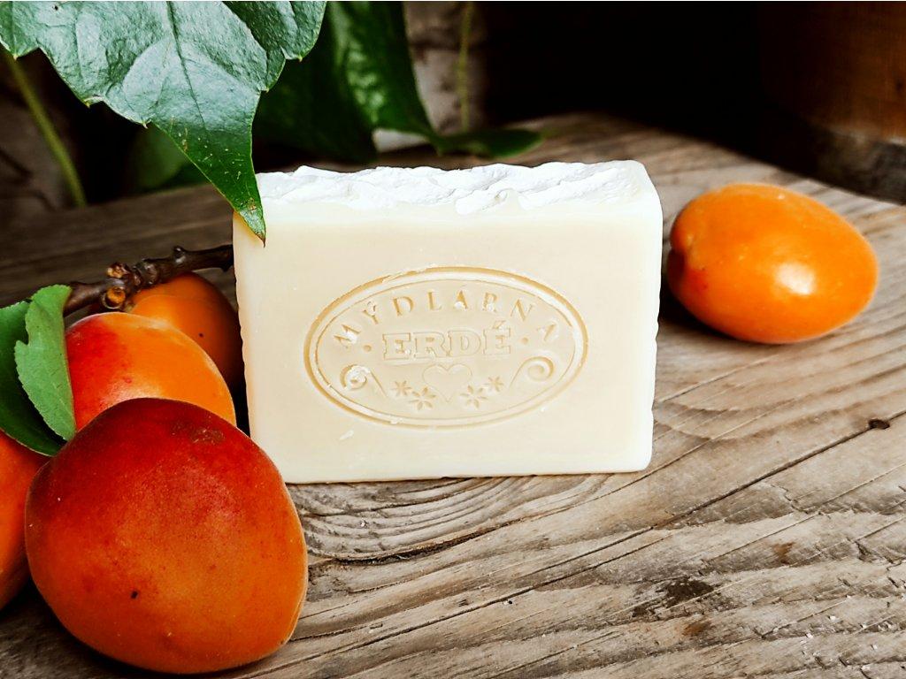 Přírodní mýdlo Meruňka a hedvábí 100 g