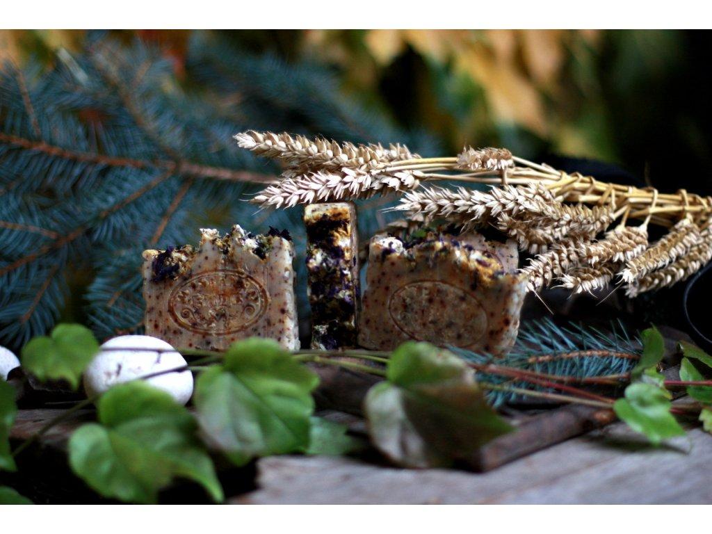 Nimbový olej + propolis + mateřídouška přírodní mýdlo