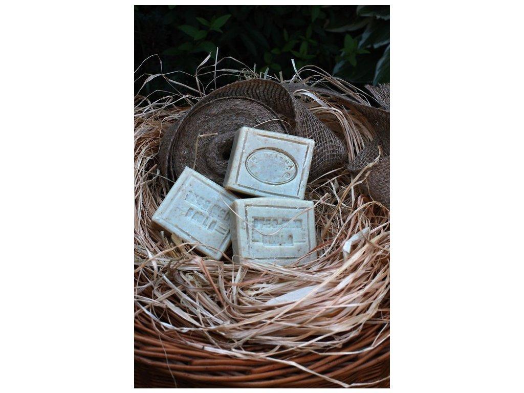 Oves + sádlo + med přírodní mýdlo