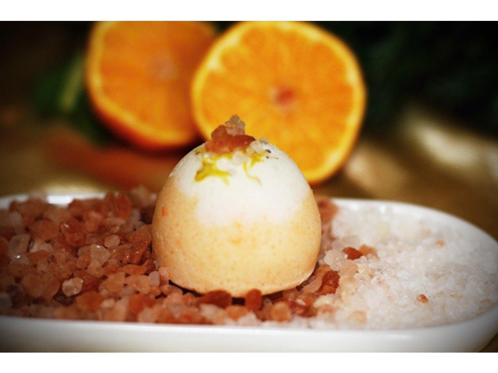 Pomerančová šumivka s himalájskou solí 70 g