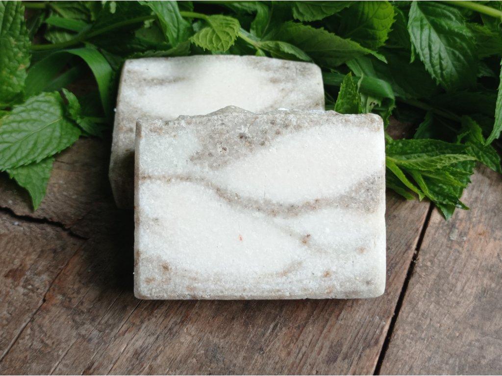 Přírodní hořčíkové solné mýdlo - Magnesium soap