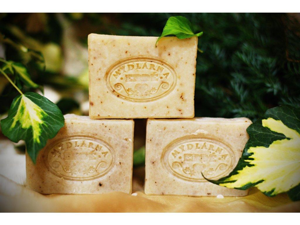 Přírodní mýdlo Banán a med na extrémně vysušenou pokožku - bez parfemace