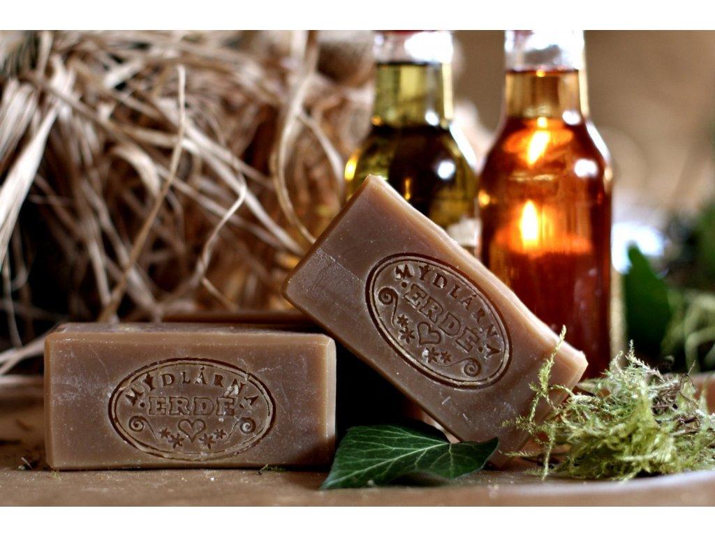 Přírodní tuhý šampon HEDVÁBNÉ BYLINKY 50 g
