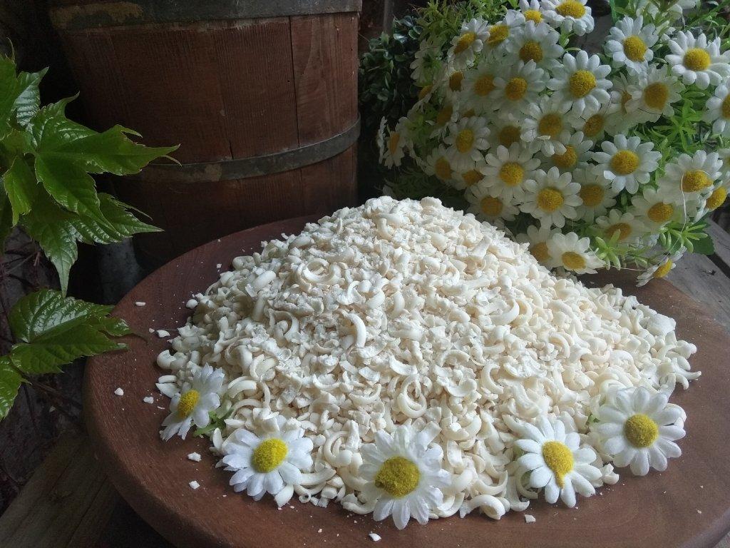 Olivové mýdlové vločky na praní 400 g  bez parfemace