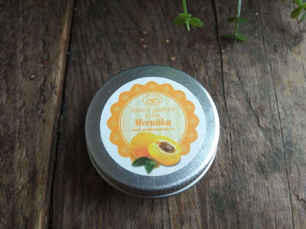 Meruňkové šlehané máslo 15 ml alu