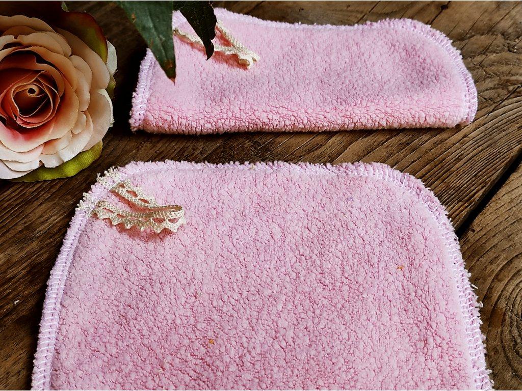 Růžový maxi tampon bio beránek
