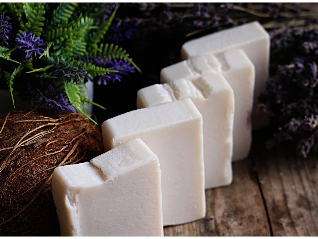 Kokosové mýdlo na praní s citrátem sodným 100 g bez parfemace