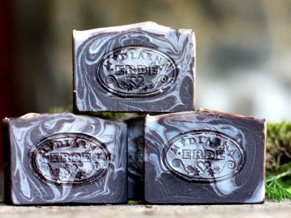 Čokoládová levandule přírodní mýdlo