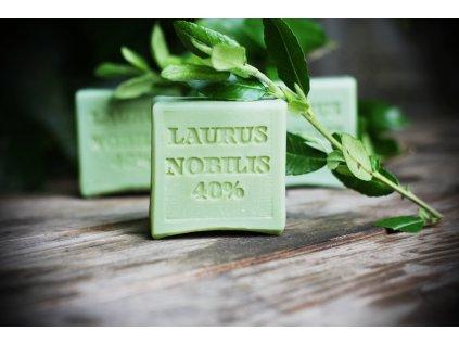 Laurus nobilis  40% vavřínové přírodní mýdlo