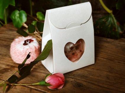Mini dárková krabička se šumivkou