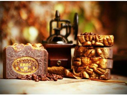 Přírodní mýdlo kávové - Café d'oro