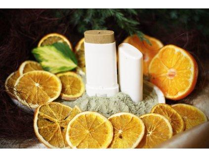 Pomeranč limetka mandarinka přírodní deodorant