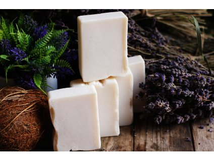 Kokosové mýdlo s levandulí a sodou 100 g