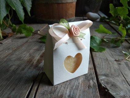 Mini dárková krabička s mýdlem
