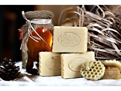 Přírodní mýdlo medové s měsíčkem - Medová plástev