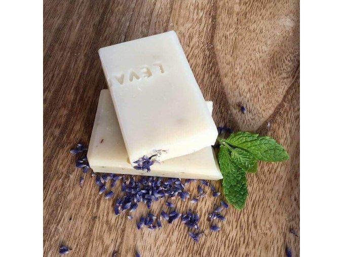 Vzorek přírodní mýdlo Levandulové a Meduňkové