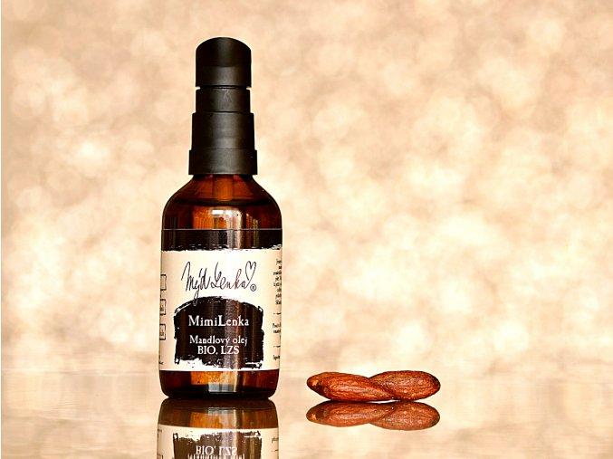 MimiLenka Mandlový olej BIO, lisovaný za studena
