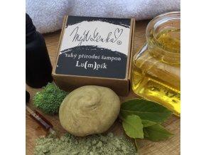 Tuhý šampon šampuk na lupy Lu(m)pík Lumpík MýdLenka