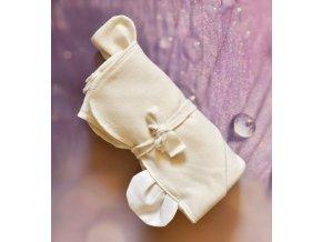 Osuška s oušky z bio bavlny
