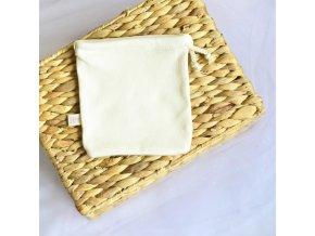 Pytlík z BIO bavlny na praní odličovacích tampónů