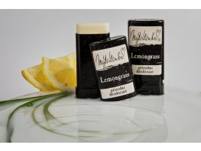 Přírodní deodorant Lemongrass MýdLenka bez solí hliníku