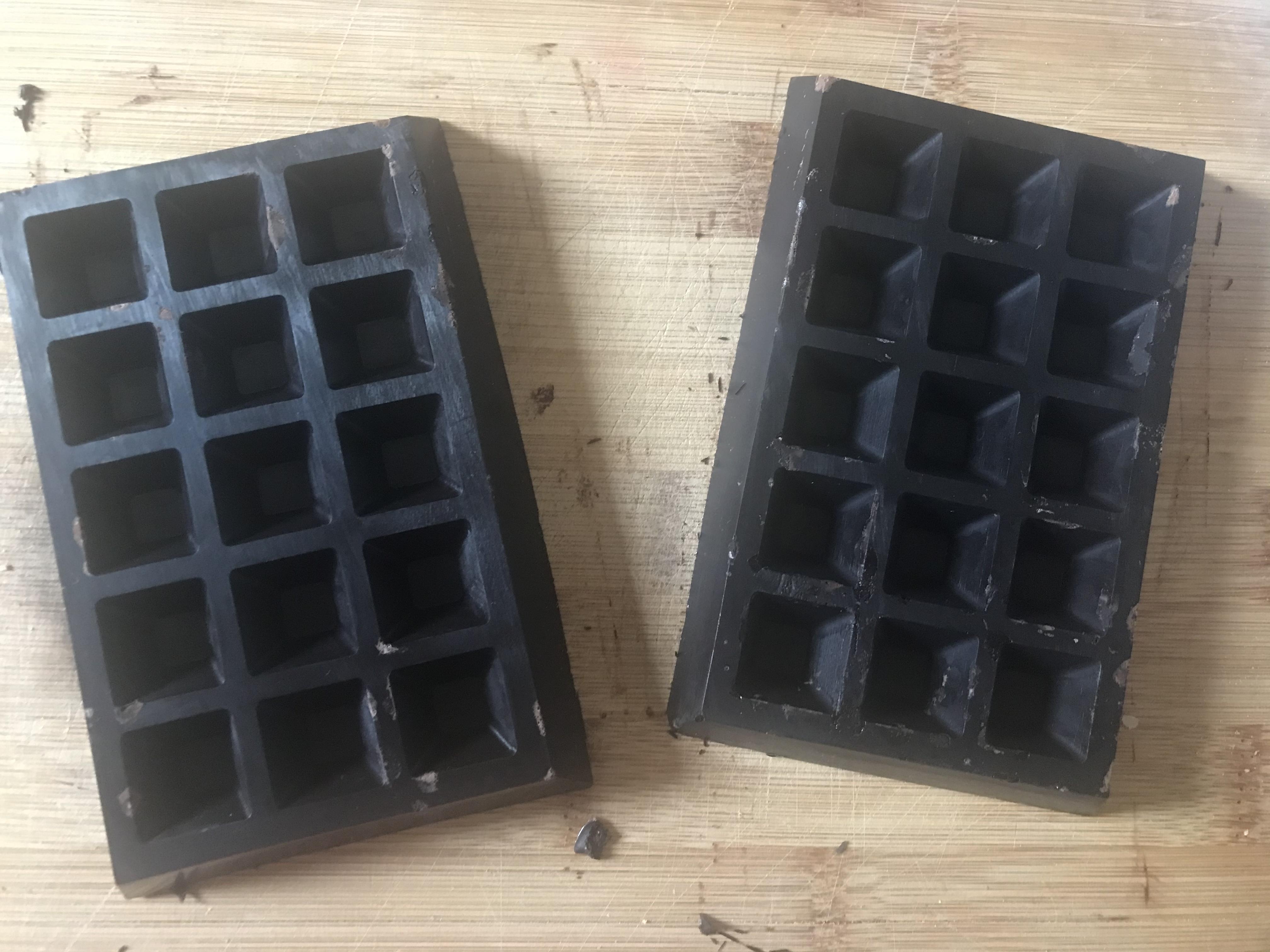 Domáca čokoláda - postup výroby
