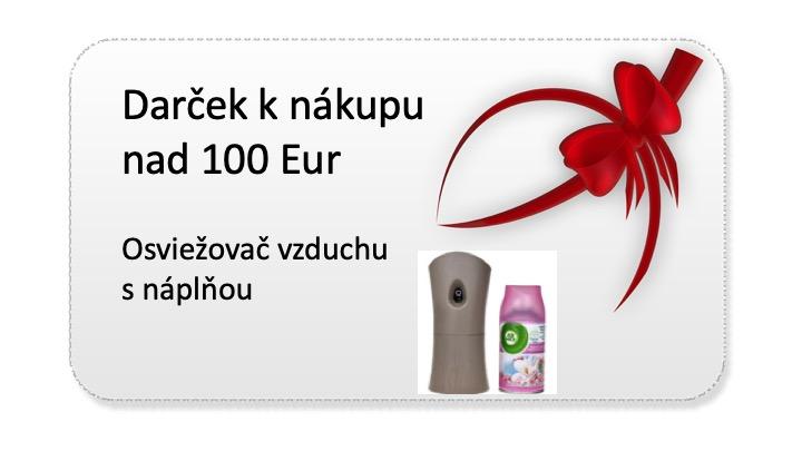 Darček k nákupu nad 100 eur - airwick osviežovač vzduchu zdarma