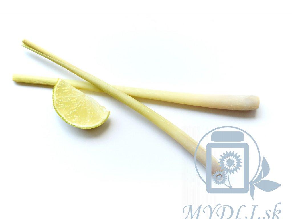 lemongrass citronella esencialny olej