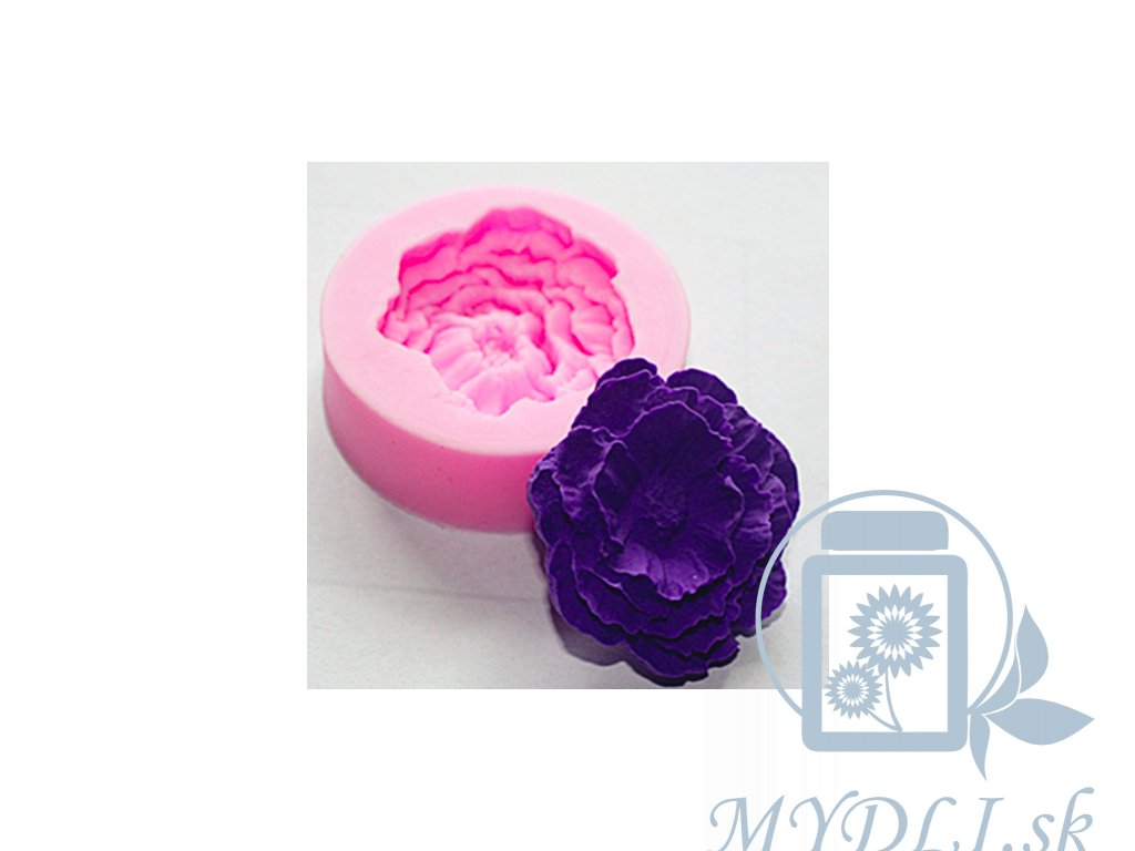 Mini kvetinka silikónová forma na výrobu mydla