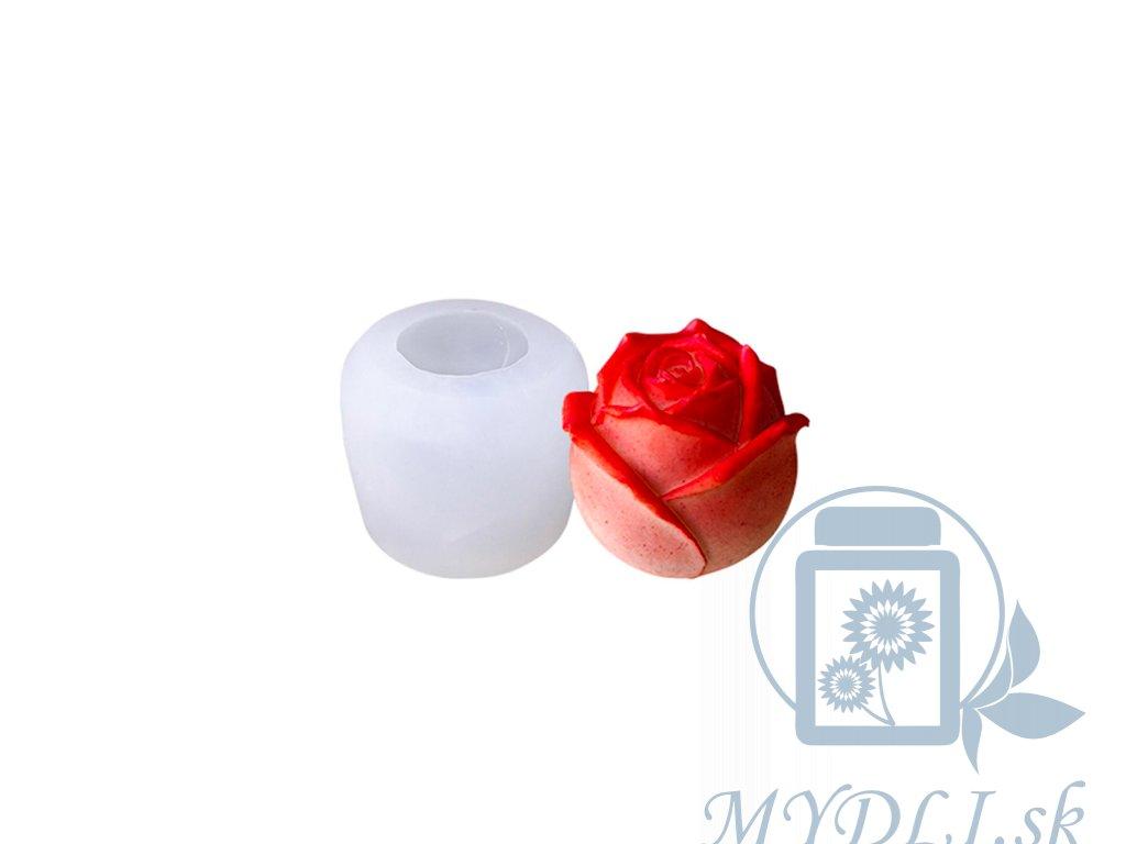 silikónová forma na mydlo ruža