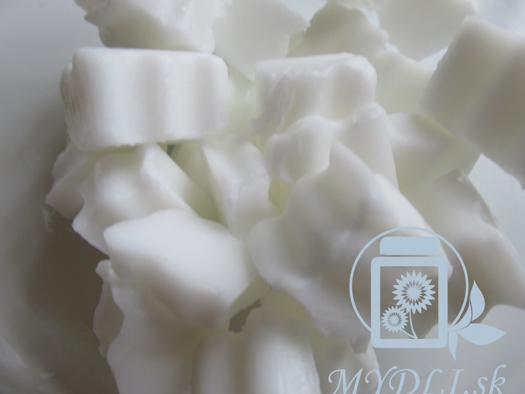Výhodné balenie: Mydlová hmota SLES & SLS Free Biela 1,5kg