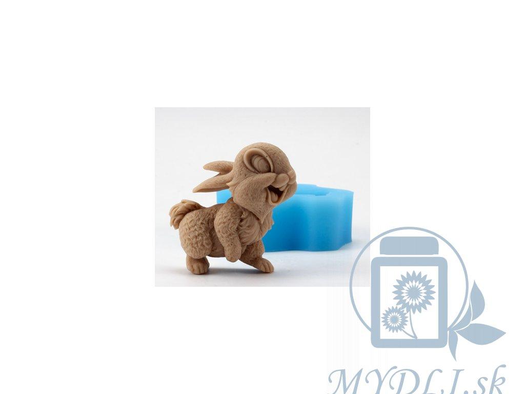 silikonova forma zviera zajac