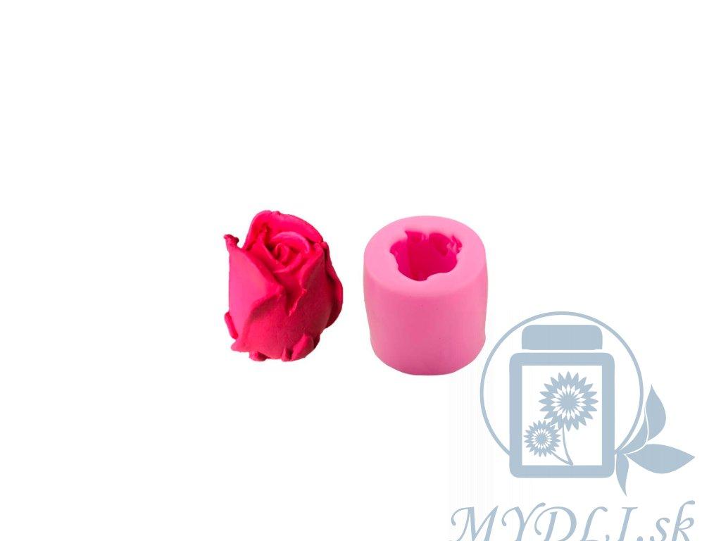 ruža mydlová kytica silikonova forma