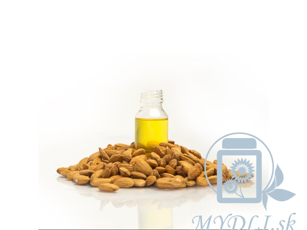 mandlový olej mydli vyroba kremu
