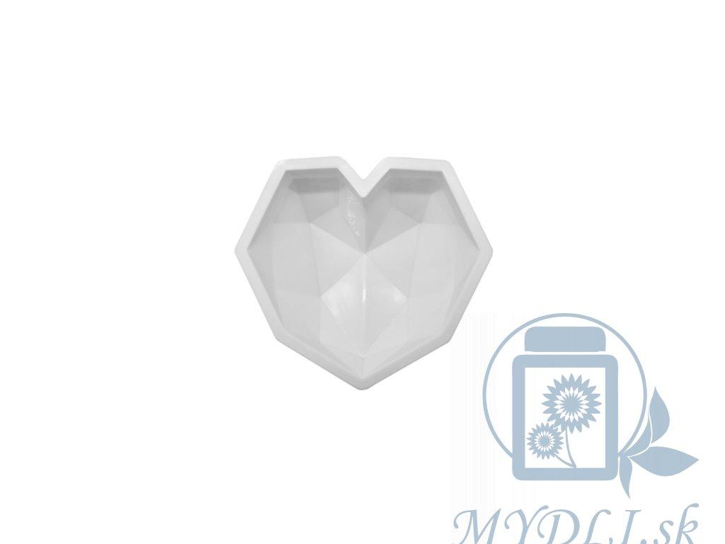 silikonova forma srdce