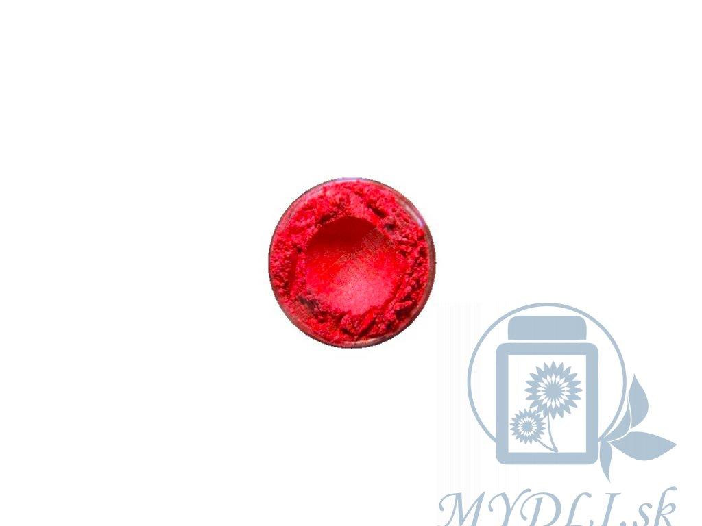 červená mica