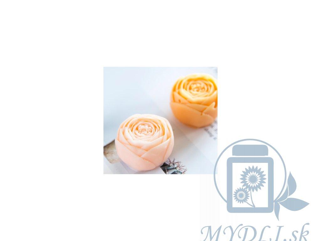 ruža silikónová forma mydlová kytica