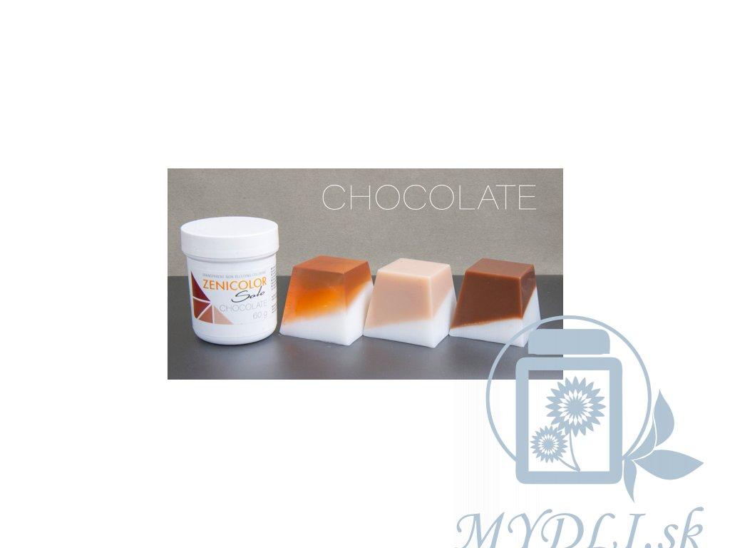 zenicolor chocolate čokoládová farba