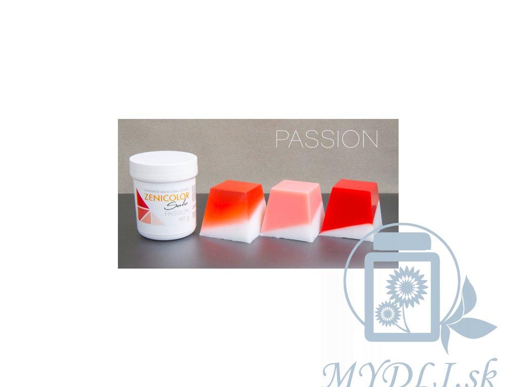zenicolor passion červená farba do mydla