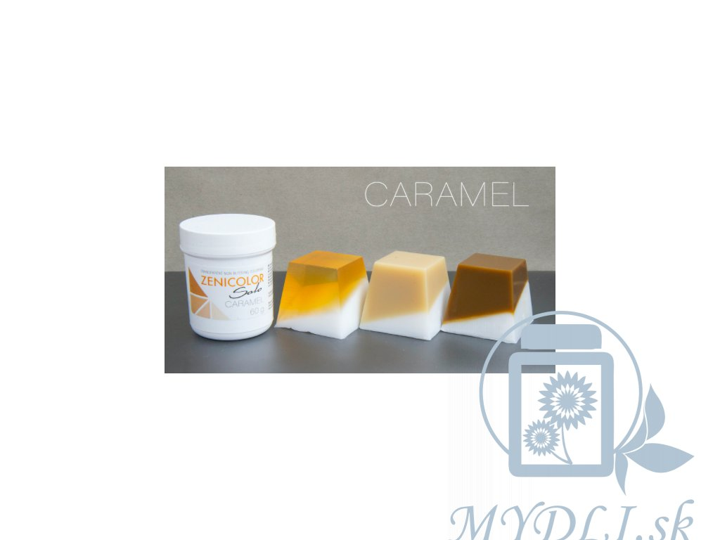 caramel zenicolor solo mydli farby