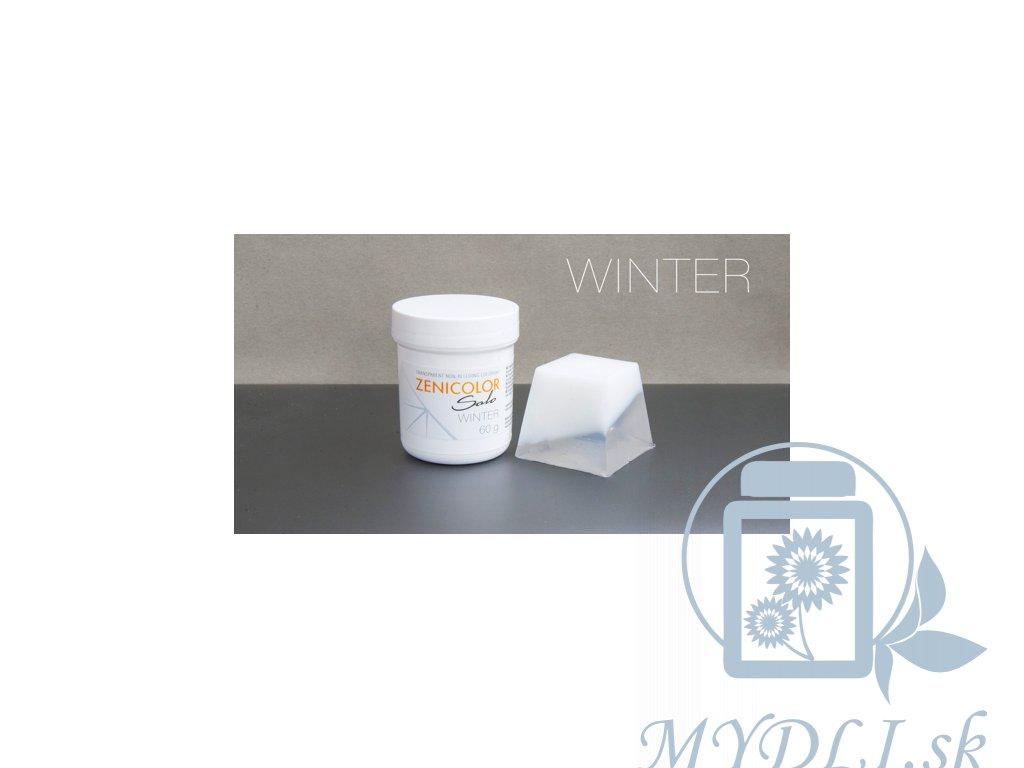 zenicolor biela farba do mydla