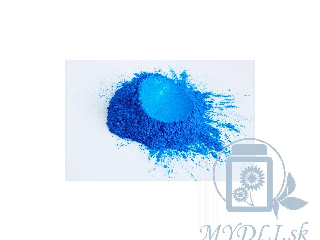 modra mika mydli