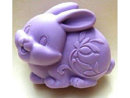 zajačik silikónová forma na výrobu mydla