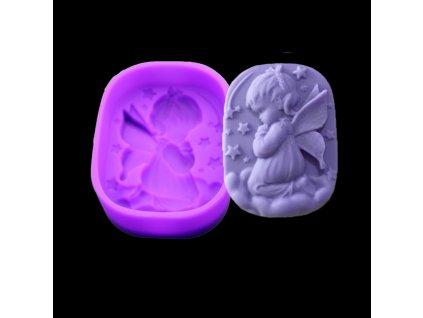 silikonova forma anjel