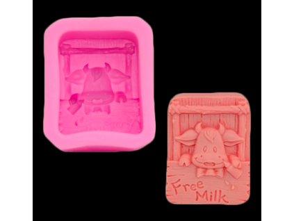 silikónová forma na mydlo krava